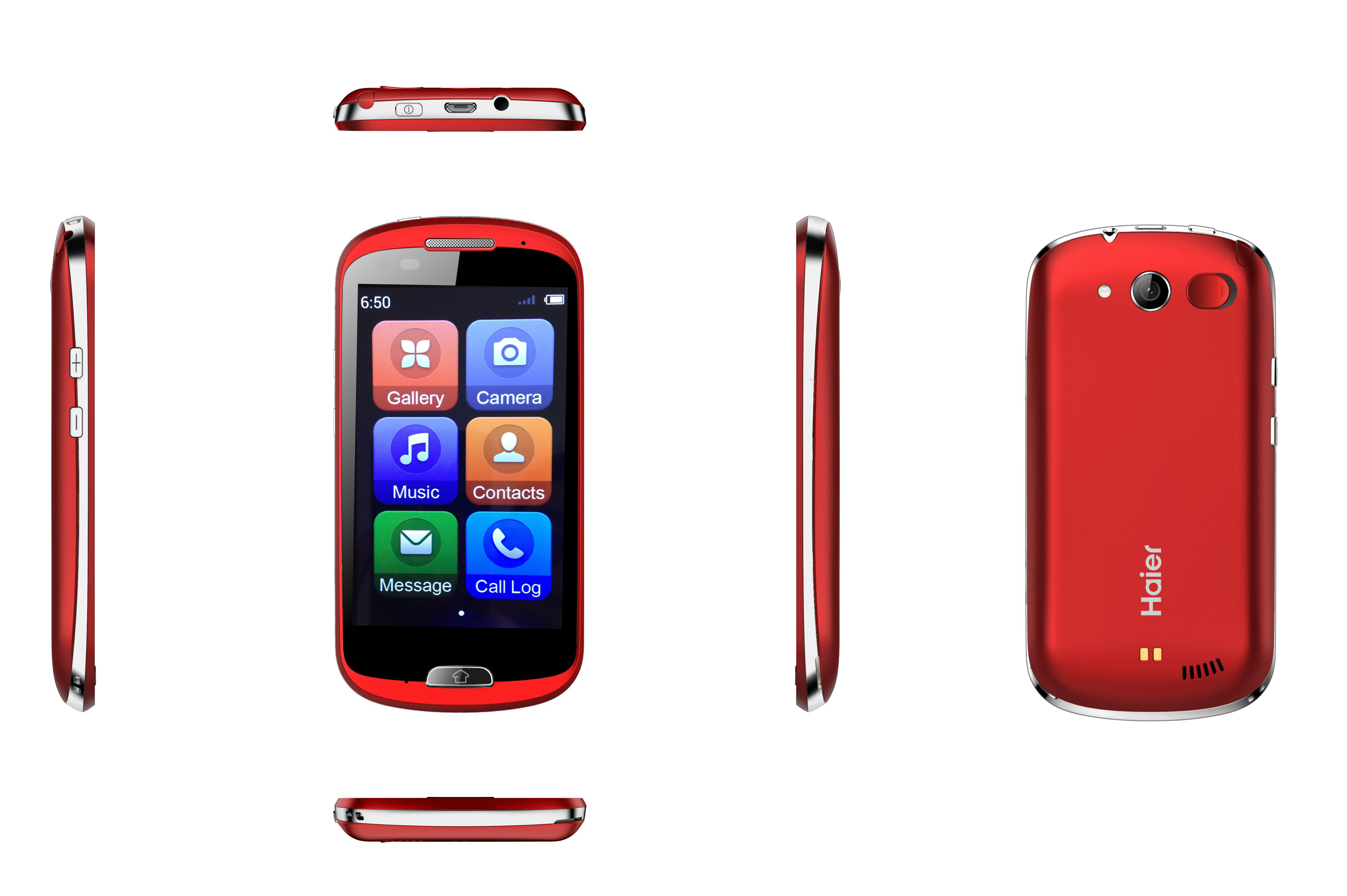 haier launches easy smartphone an easy to use smartphone for seniors silver economy. Black Bedroom Furniture Sets. Home Design Ideas