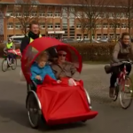 Denmark: Cycling with the elderly