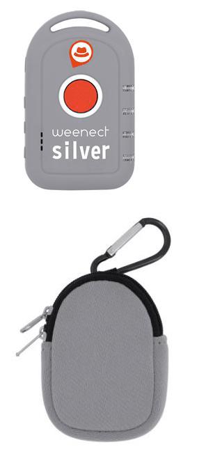Weenect-Silver Beacon
