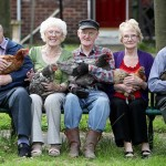 Retirement home pensioners adopt feathered friends