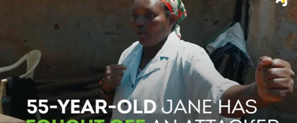 Karaté grannies: older women learn to defend themselves in Kenya