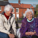 Standing Up 4 Sitting Down, a campaign to encourage older people to go out to the shops