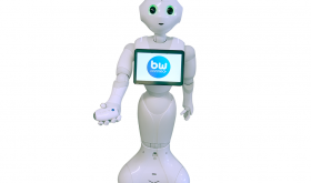 SoftBank Robotics' life assistant, Pepper,  comes equipped with BewellConnect® solutions