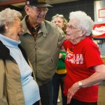 Loraine Maurer, at age 94, has no intention of retiring from McDonald's !